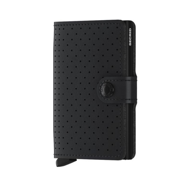 Secrid Minniwallet Perforated Black