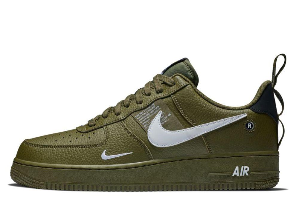 nike air force 1 herren olive