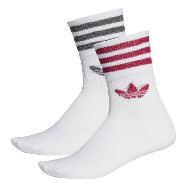 adidas Mid-Cut Glitter Crew Socks