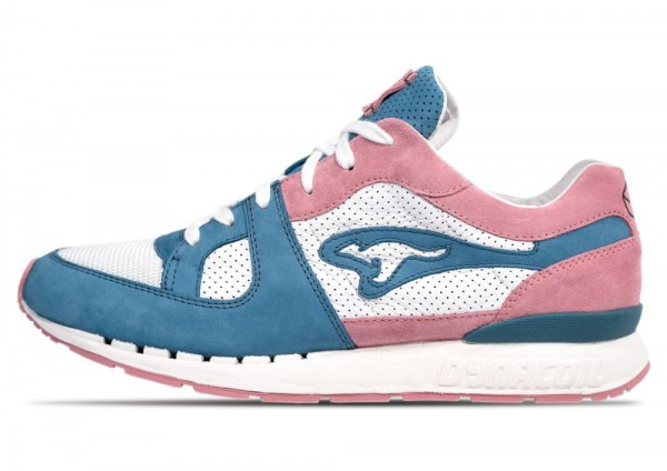 "KangaROOS x Sneakerholics FLIP Coil-R1 ""Bubblegum"""