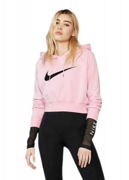 Nike Wmns Crop French Terry Hoodie